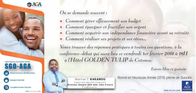 Lancement officiel de AGA Confort Plus et AGA Capital Plus